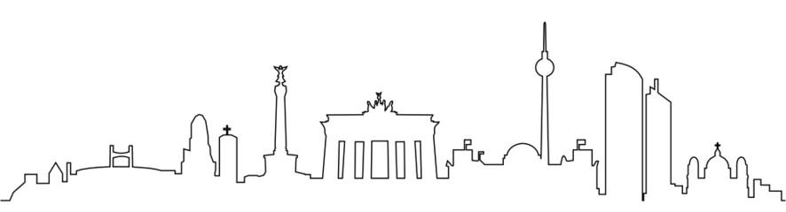 Skyline Berlin Linie