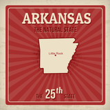 Arkansas travel poster