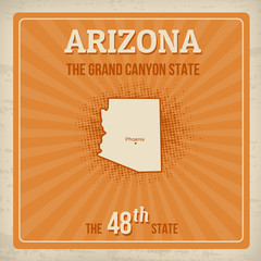 Arizona travel poster