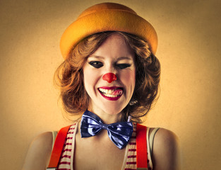 yellow clown
