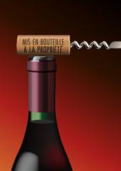 BOUTEILLE Bouchon Propriete