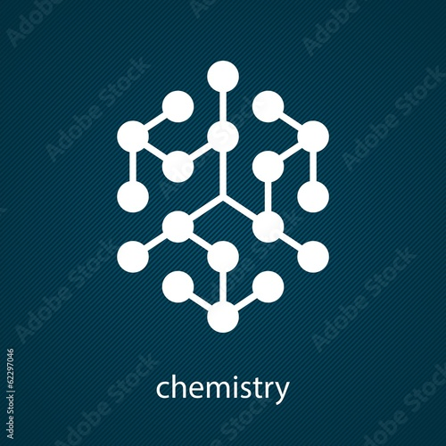 The chemical structure of the molecule