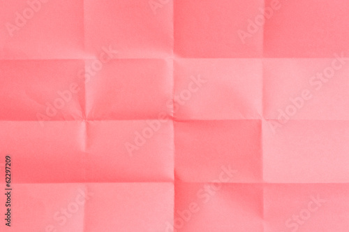 Red sheet of paper
