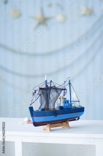 Small toy ship
