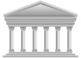 Corinthian Greek temple