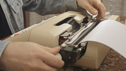 Typewriter angled view 1