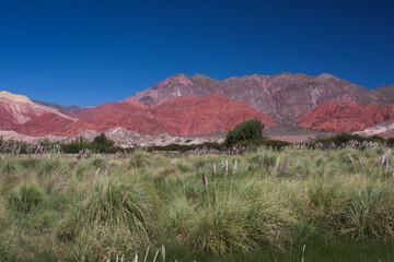 Farbenfrohe Landschaft in Argentinien