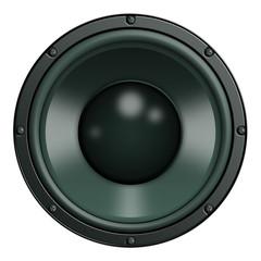 Speaker, Lautsprecher, Grün
