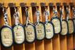 hotel keys in cabinet - 62300895