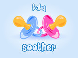 baby soother background