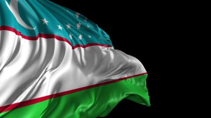 Flag of Uzbekistan
