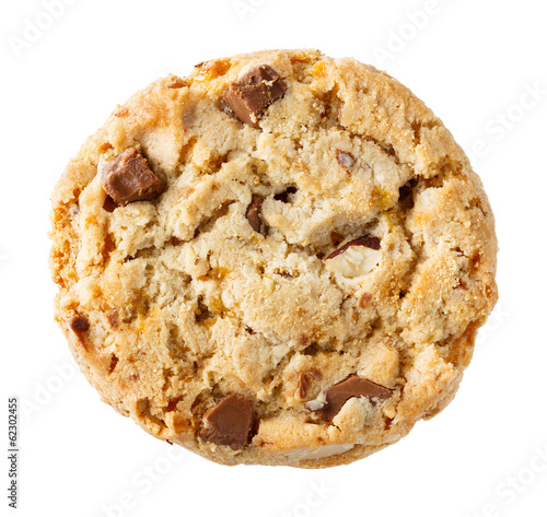 Chocolate chunk crispy cookie
