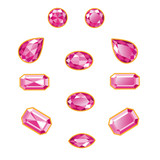 Pink Diamond Set