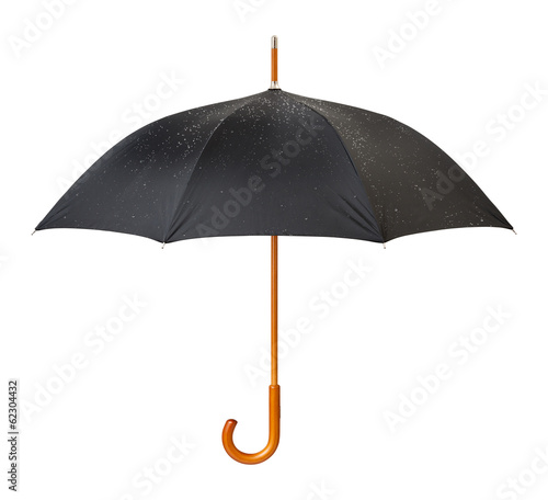 Wet Umbrella isolated