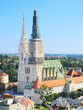 Zagreb Cathedral view