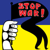 Stop the war in Ukraine Poster