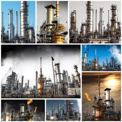 raffineria collage