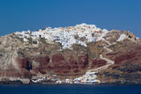 View on Fira  in Santorini