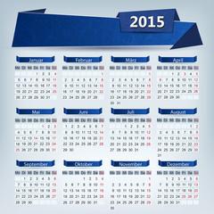 Kalender 2015 ,Floral Textfeld