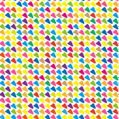 Seamless abstract color pattern