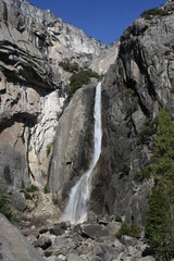 Lower Yosemite Falls Landscape California