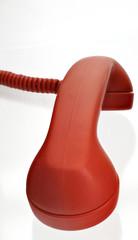 roter Telefon - Höhrer