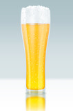 Glass of beer, Bier Glas