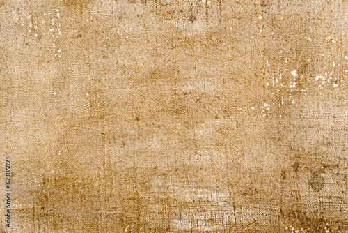 Old grunge canvas texture background