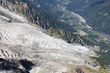 Bossons Glacier from the Aiguille du Midi