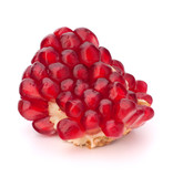 Broken pomegranate segment