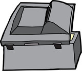 Black Multifunction Scanner