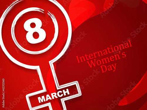 Elegant background design for Women's day