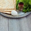 Jewish Passover seder celebration