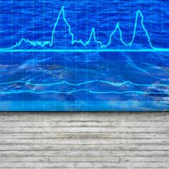 Wasserstatistik - 3d Render