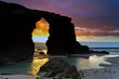 """ The Cathedrals"" beach. Ribadeo,Galicia. Spain."