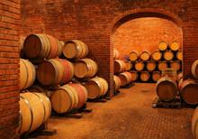 Beczki wina