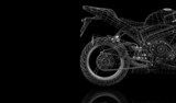 bike, motorcycle,  3D model