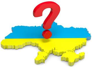 Ukraine großes fragezeichen