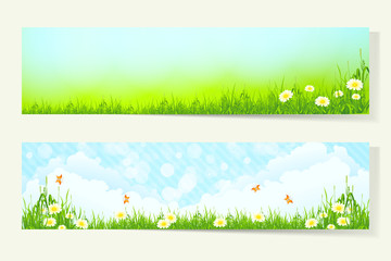 Two Horizontal Banners