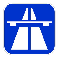 European highway icon