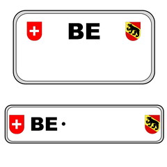 Bernese plate number, Switzerland