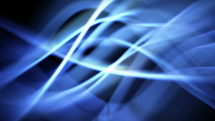 abstract energy background of blue light waves - seamless
