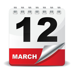 12 MARCH ICON