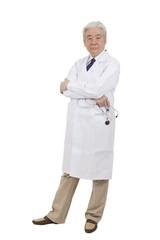 .Portrait of senior male doctor.