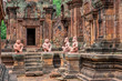 Banteay Srei - a 10th century Hindu temple dedicated to Shiva