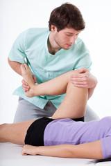 Leg rehabilitation exercise