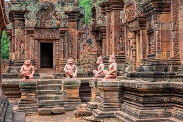 Banteay Srei - a 10th century Hindu temple dedicated to Shiva