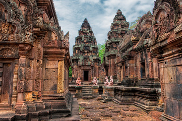 Banteay Srei - 10th century Hindu temple dedicated to Shiva