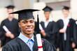 african male university graduate