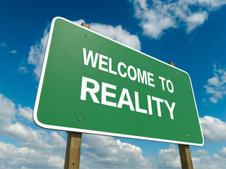 Road sign to reality